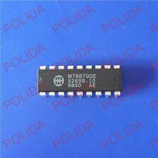 10PCS DTMF DECODER RECEIVER IC MITEL DIP-18 MT8870DE