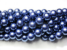 100Pcs Top Quality Czech Glass Pearl Round Beads Jewelry Making 6mm