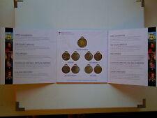 War of 1812 Collector Card Folder w Shannon Brock Tecumseh de Salaberry Secord