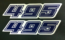 Adesivo fiancatine 495 KTM GS 1981- adesivi/adhesives/stickers/decal