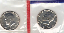 1989 P+D KENNEDY HALF UNCIRCULATED STILL IN MINT CELLO L@@K