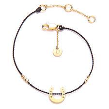 Daisy Good Karma Bracelet - Horseshoe - 24kt Gold Vermeil