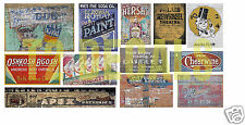 N Scale Ghost Sign Decals #30- Weather Your Buildings & Structures!