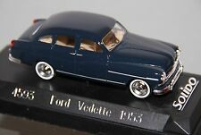 Made Francia Solido PEUGEOT 203 Verde Grigio 1954 Rif. 4546 1/43