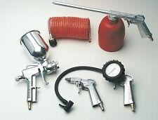 Druckluftset für Kompressor Reifendruck Sprühpistole Reifenfüller Schlauch NEU