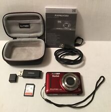 Kodak PIXPRO FZ53 Digital Camera, Case, Ugreen Stick, 32GB Card, Instr Book, Usb