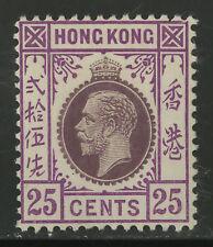 Hong Kong   1919   Scott # 128    Mint Very Lightly Hinged