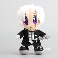 12'' Anime D.Gray-Man Allen Walker Plush Doll Soft Stuffed Toy Figure Xmas Gift