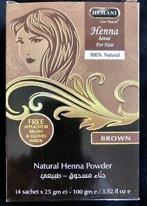 Hemani Hair henna. Brown Colour