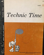 Technic Time Part A Frances Clark Library For Piano Students
