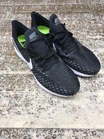Nike Zoom Pegasus 35 Mens Running Training Shoes Black/ White