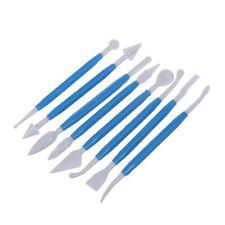 8 X Pro Herramientas Decoración de Pasteles Pastelería Fondant Glaseado Modelado de arcilla redondo