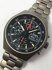 Sinn vintage Automatik chronograph modelo 157 ti 12 lemania 5100 con revisión