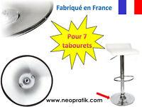 Protection pour 7 tabourets : pied de tabouret protection plastique socle métal