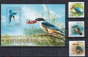 Vietnam 2020 birds set+s/s MNH