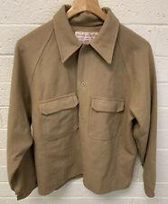 CC FILSON Co Seattle Brown Wool Shirt Jacket 100% Wool Size L/XL