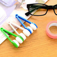 Mini Soft Eye Glasses Lens Cleaning Cleaner Wipe Spectacles New Eyeglass T0E1