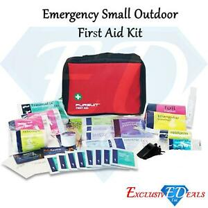 Emergency First Aid Kit Travel Compact Set (33-Piece) Expiry Date 2025