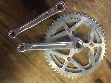 VTG Sugino Crank Maxy Forged 165mm Bicycle Crankset 3 Bolt 70s Double