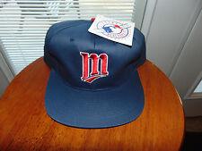 Minnesota Twins Snapback Hat Cap MLB Baseball Blue NWT Brand NEW NWT Tags