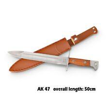 Military Hunting Knife L Russia CCCP Ak47