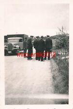 Foto, Bahnschutz, Mitarbeiter, LKW,  Warschau, Polen