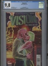 VISION #6 MT 9.8 CGC WHITE PAGES KING STORY WALTA ART DALFONSO COVER