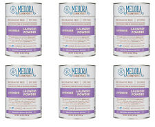 6x Meliora Cleaning Products Laundry Powder, 128 HE/64 Standard loads, lavender