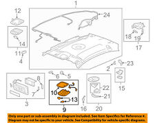Chevrolet GM OEM 08-12 Malibu-Map Light-Map Lamp Assembly 25871851