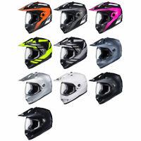 NEW - HJC DS-X1 Adventure Motorcycle Street/Offroad Helmet DOT - Pick Size/Color