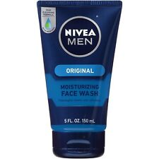 NIVEA Men Original Moisturizing Face Wash, 5 Fluid Ounce