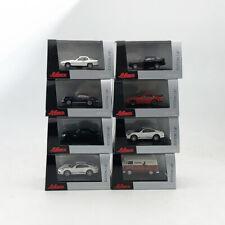 3 PCS SUIT 1/87 SCHUCO Deition Helicopter & Porsche & VW T1 & Merchdes Car Model