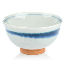 Grey Crackleglaze Japanese Rice Bowl