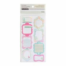 Warm & Cool Label Journal Stickers By Recollections™ 520429 NEW