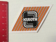 Aufkleber/Sticker: KUBOTH (15041686)
