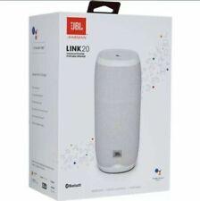 JBL Link 20 Smart Speaker Bluetooth WLAN (WiFi) 20W Google Assistant Weiß NEU