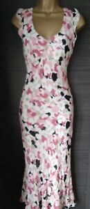 Hobbs Marilyn Anselm Floral Dress Size 10