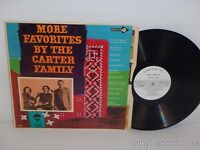 More Favorites By THE CARTER FAMILY 1965 EX! WLP WHITE PROMO LP Decca DL 4557
