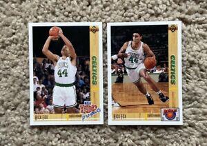 1991-92 NBA Upper Deck Basketball | Rick Fox RC's | #443 & #R23 | Boston Celtics