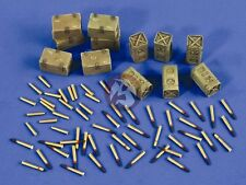 Verlinden 1/35 Bofors 40mm Gun Ammunition Shells, Cartridges and Ammo Boxes 2540