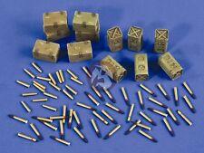 Verlinden 1/35 Bofors 40mm Gun Ammunition Shells, Cartridges and Ammo Boxes 2540