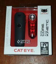 Cateye Sync Core And Kinetic Light Set 500 lumens.