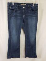 Big Star Maddie Mid Rise Fit Womens Denim Blue Jeans Size 34 x 31 Boot Cut Dark