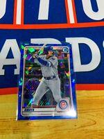 2020 Bowman Draft Chrome Sapphire #BD-80 Miguel Amaya Chicago Cubs
