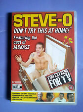 Steve-O  Don't Try This at Home (2001) DVD