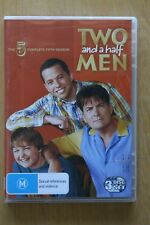 Two And A Half Men : Season 5 (DVD, 2009, 3-Disc Set)   Preowned (D213)