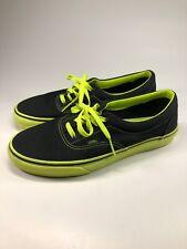 VANS Authentic Classic Green Olive Canvas Lace Up Skate Shoes Mens Size 10 Era