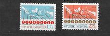 1984 MNH Indonesia Michel 1152-53 postfris**