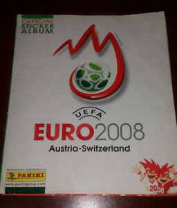 COMPLETE  ALBUM  PANINI FIFA EURO  2008