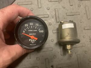 1978-1987 Grand National T-Type Autometer 0-100 Fuel Pressure PSI Gauge & Sender